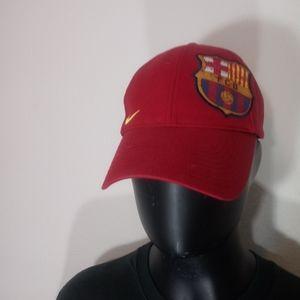 BNWOT Nike Barcelona strap back dad hat